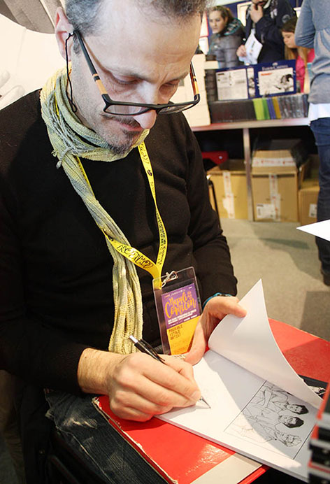 Pasquale Vitale al Comicon, Napoli 2016